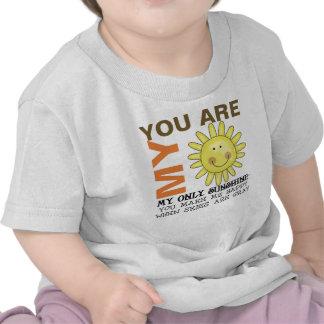 Usted es mi sol camiseta