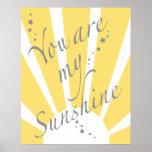 Usted es mi sol póster