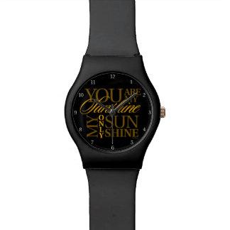 Usted es mi sol relojes