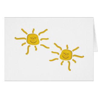 Usted es mi sol tarjetón