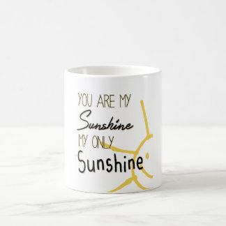 Usted es mi sol taza