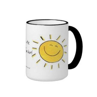 ¡Usted es mi sol! Taza