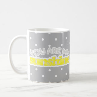 Usted es mi sol taza de café
