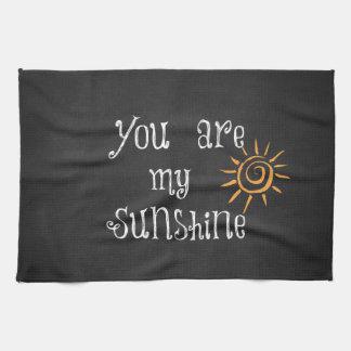 Usted es mi sol toalla de cocina