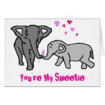 Usted es mi Sweetie Tarjetas