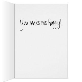 Usted es mi tarjeta de la sol