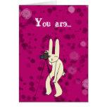 Usted es mi tarjeta de la superestrella