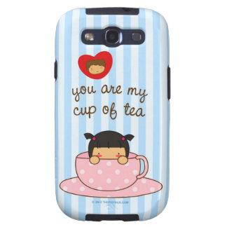 Usted es mi taza de té galaxy SIII fundas
