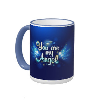 Usted es mi taza del ángel