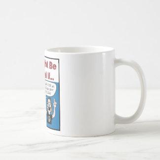 Usted es optimista sobre su pesimismo tazas de café