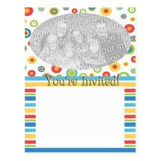 Usted es plantilla invitada de la foto tarjeta postal