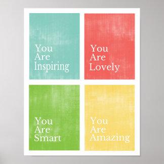 Usted es poster póster