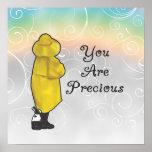 Usted es precioso posters