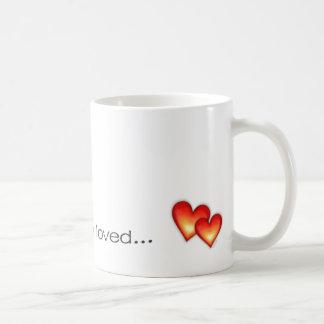 Usted es sooo amado… taza básica blanca