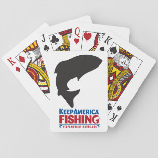 Usted es tal tarjeta - tarjetas de KeepAmericaFish Barajas De Cartas