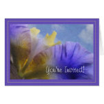 Usted es… tarjeta invitada del iris