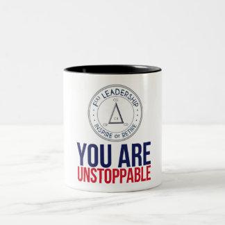 Usted es taza de café imparable