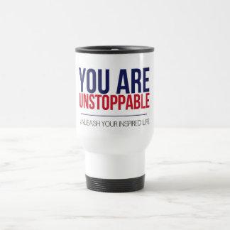 Usted es taza imparable del viaje