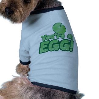 ¡Usted es un HUEVO el decir impresionante del ki Camisa De Mascota