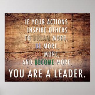 Usted es un líder