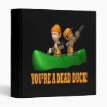 Usted es un pato muerto