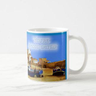 Usted es una buena taza de café de la captura