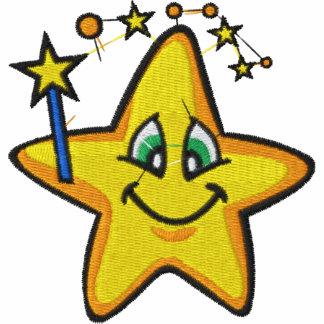 Usted es una camisa bordada estrella
