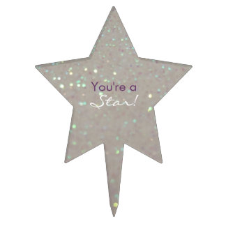 ¡Usted es una estrella! Enhorabuena/graduación Decoración De Tarta