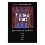 ¡Usted es una estrella! Invitación Personalizada