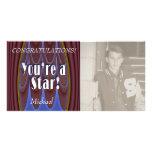¡Usted es una estrella! Tarjetas Fotograficas Personalizadas