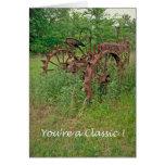 Usted es una postal clásica felicitaciones
