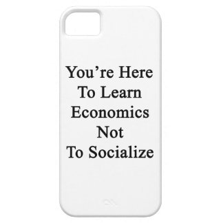 Usted está aquí aprender la economía para no socia iPhone 5 carcasas