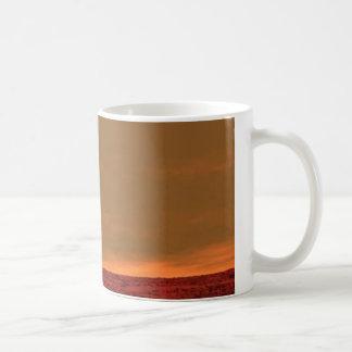 """""""Usted está aquí"""" en Marte que mira la taza de"""