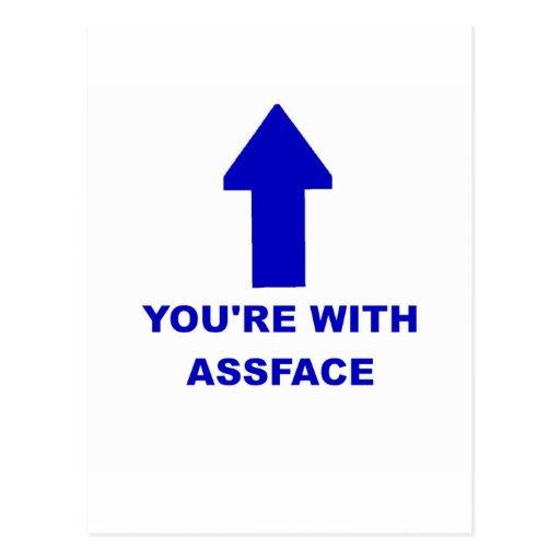 Usted está con Assface Tarjetas Postales
