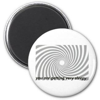 Usted está consiguiendo muy soñoliento imán redondo 5 cm