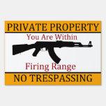 Usted está dentro de propiedad privada de la gama