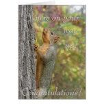 Usted está en su manera para arriba felicitacion