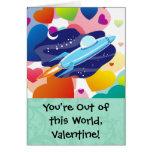 Usted está fuera de esta tarjeta del día de San
