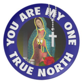 Usted está mi un norte verdadero plato