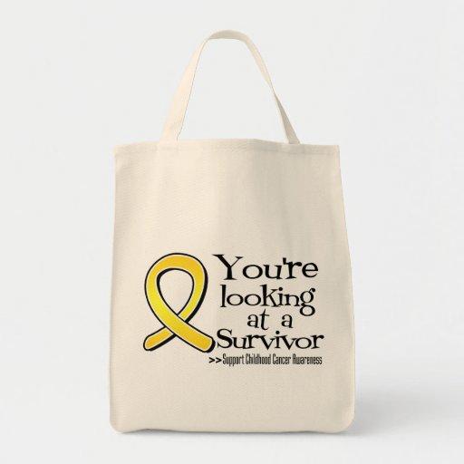 Usted está mirando a un superviviente del cáncer d bolsa de mano