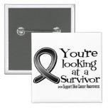 Usted está mirando a un superviviente del cáncer d pin