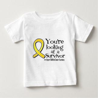 Usted está mirando a un superviviente del cáncer camisetas