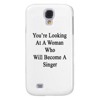 Usted está mirando a una mujer que haga cantante