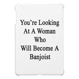 Usted está mirando a una mujer que haga un Banjoi