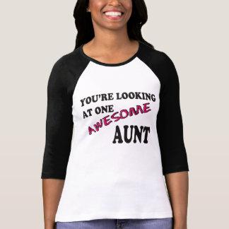Usted está mirando a una tía impresionante T-Shirt Polera