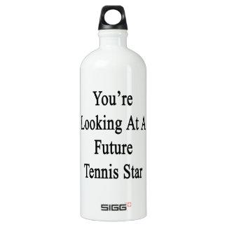 Usted está mirando una estrella de tenis futura