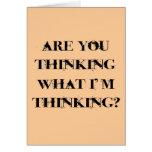 ¿Usted está pensando lo que estoy pensando? 2 Tarjetón
