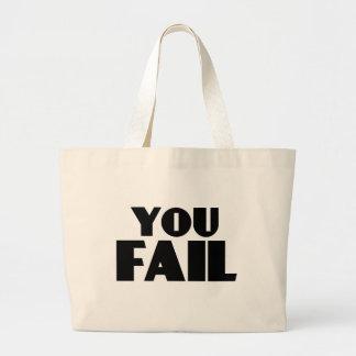 Usted falla bolsa