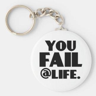 Usted falla el @Life Llavero