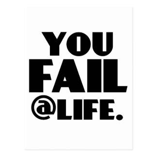 Usted falla el @Life Postal